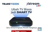 Ubah TV Biasa Jadi Smart TV Pakai Transvision Xstream Seru!