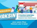 Vaksin Pfizer Gratis di Carrefour Lebak Bulus, Buruan Daftar!