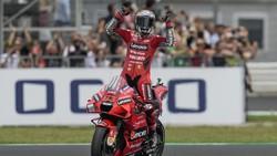 MotoGP San Marino: Bagnaia Menang Beruntun, Bastianini Podium