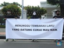 Intip Demo Petani Tembakau Tolak Cukai Rokok Naik di Jakarta