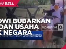 Jokowi Bubarkan 3 BUMN: Bhanda Ghara Reksa, Perinus dan Perta