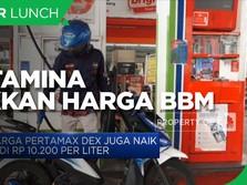 Pertamina Naikkan Harga Pertamax Turbo Jadi Rp 12.300/liter