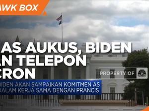 Bahas AUKUS, Biden akan Telepon Macron