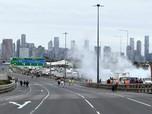 Melbourne Rusuh! Demo Covid Australia, Puluhan Ditangkap