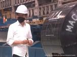 Diresmikan Jokowi, Intip Kecanggihan Pabrik Baja RI Ini