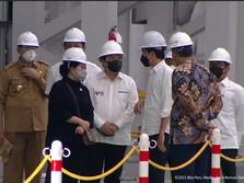 Jokowi Sebut Krakatau sudah Sehat, Saham KRAS 2 Hari Melesat!