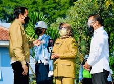 Jokowi Bakal Resmikan Pabrik Baja 'Raksasa' di Cilegon