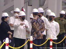 Di Depan Jokowi, Erick Targetkan Valuasi Pertamina Rp1.400 T