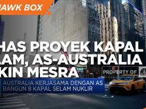 Bahas Proyek Kapal Selam, AS-Australia Makin Mesra