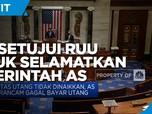 DPR AS Setujui RUU Selamatkan Pemerintah AS dari Gagal Bayar