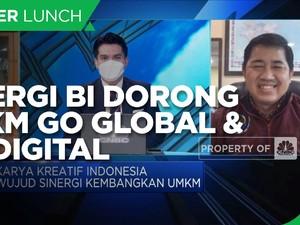 Karya Kreatif Indonesia, Sinergi BI Dorong UMKM Go Global