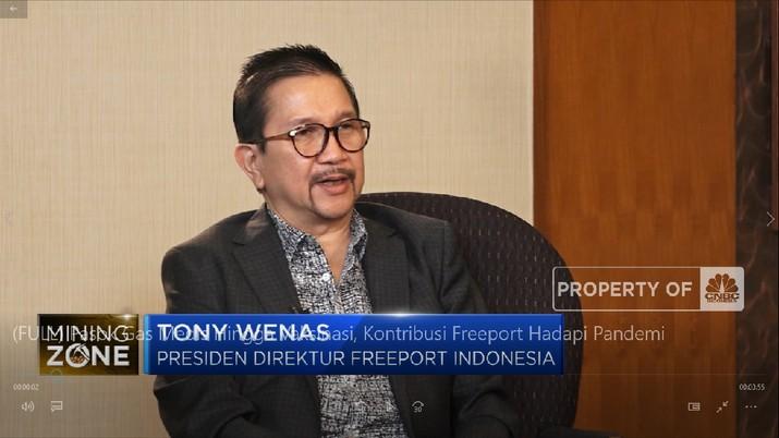 Pasok Gas Medis Hingga Vaksinasi, Kontribusi Freeport Hadapi Pandemi (CNBC Indonesia TV)