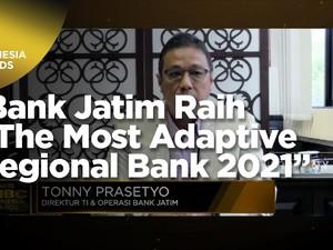 Bank Jatim Raih