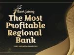 Bank Jateng Raih The Most Profitable Regional Bank 2021