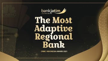 Bank Jatim Raih The Most Adaptive Regional Bank 2021 thumbnail