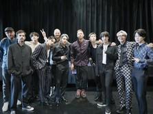Adu Kuat Coldplay-BTS Vs Ed Sheeran di Inggris
