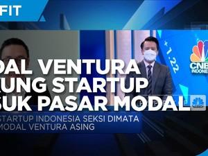 Modal Ventura Dukung Penuh Startup Masuk Pasar Modal