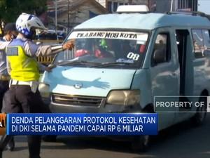 Denda Pelanggaran Prokes DKI Jakarta Capai Rp 6 Miliar