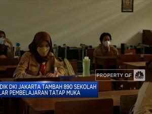Disdik DKI Jakarta Tambah 890 Sekolah Gelar PTM
