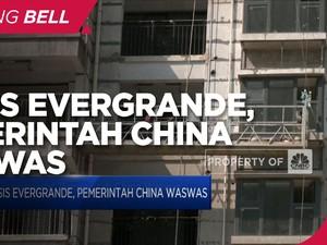Krisis Evergrande, Pemerintah China Waswas