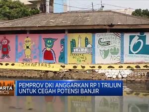 Pemprov DKI Anggarkan Rp 1 Triliun Untuk Cegah Potensi Banjir