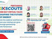 Dorong Start Up Energi di RI, Pertamina Luncurkan XScouts