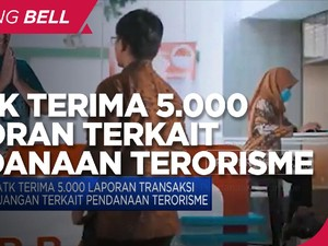 PPATK Terima 5.000 Laporan Aliran Dana Terkait Terorisme