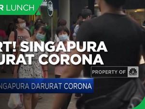 Kasus Positif Rekor, Singapura Darurat Corona!