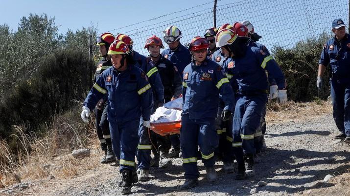 Gempa M5,8 Guncang Crete Yunani. (REUTERS/STEFANOS RAPANIS)