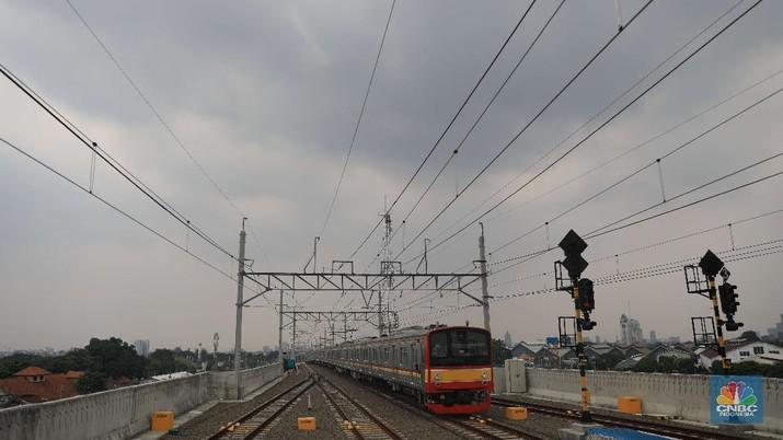 Stasiun Manggarai (CNBC Indonesia/Muhammad Sabki)