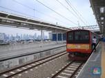 Intip Jalur Layang KRL Stasiun Manggarai yang Mulai Operasi