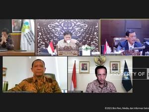 Update PPKM Jawa-Bali, Luhut: Kasus Covid-19 Turun Drastis!
