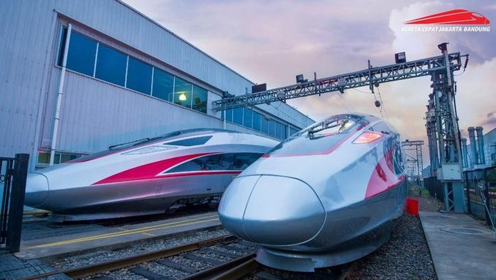 Kereta Cepat Indonesia China (KCIC). (Dok: KCIC)