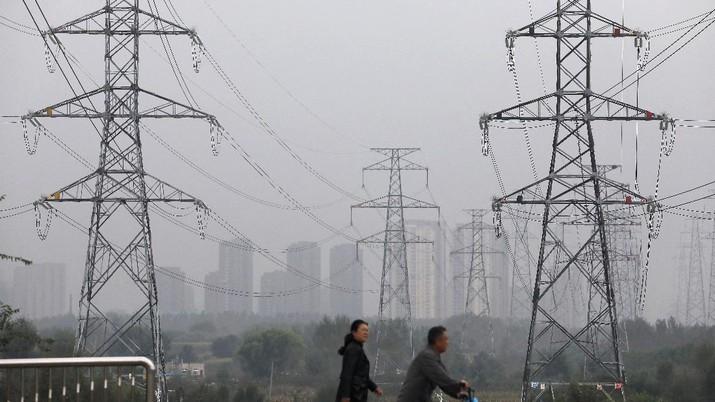 17 provinsi dan wilayah telah terjadi beberapa bentuk pemadaman listrik. (REUTERS/TINGSHU WANG)