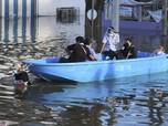 Potret Banjir Rendam Thailand, 70 Ribu Rumah 'Tenggelam'