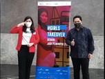 Ini Sosok Remaja Putri yang Geser Erick Jadi Menteri BUMN