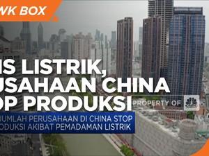 Krisis Listrik, Perusahaan di China Diminta Setop Produksi