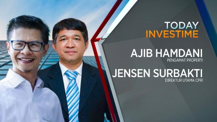 Pengamat properti Ajib Hamdani dan Direktur Utama PT Capri Nusa Satu Properti Tbk (CPRI) Jensen Surbakti