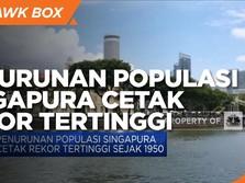 Penurunan Populasi Singapura Cetak Rekor Tertinggi Sejak 1950