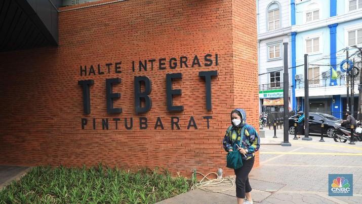 Wajah baru Stasiun Tebet (CNBC Indonesia/Muhammad Sabki)