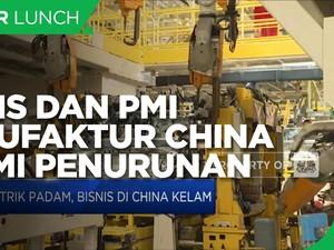 China Catatkan Kontraksi Bisnis & PMI Manufaktur