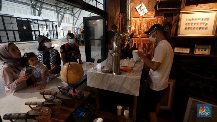 Pos Bloc Jakarta (CNBC Indonesia/Andrean Kristianto)