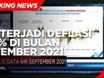 BPS: Terjadi Deflasi 0,04% di Bulan September 2021