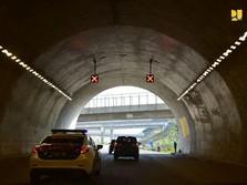 Tol dengan Terowongan Pertama di RI Operasi Tahun Depan