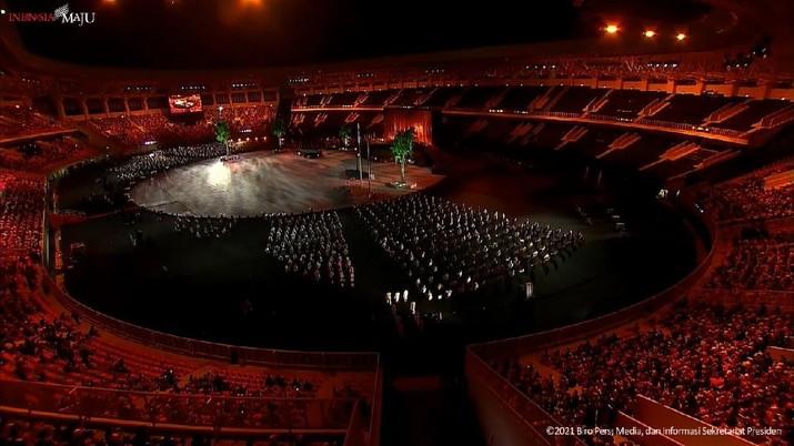 Pembukaan Pekan Olahraga Nasional XX Papua, Jayapura, 2 Oktober 2021