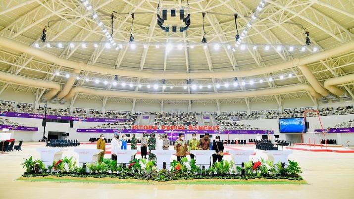 Presiden Jokowi Resmikan Tujuh Arena PON XX Papua (Laily Rachef/Biro Pers Sekretariat Presiden RI)