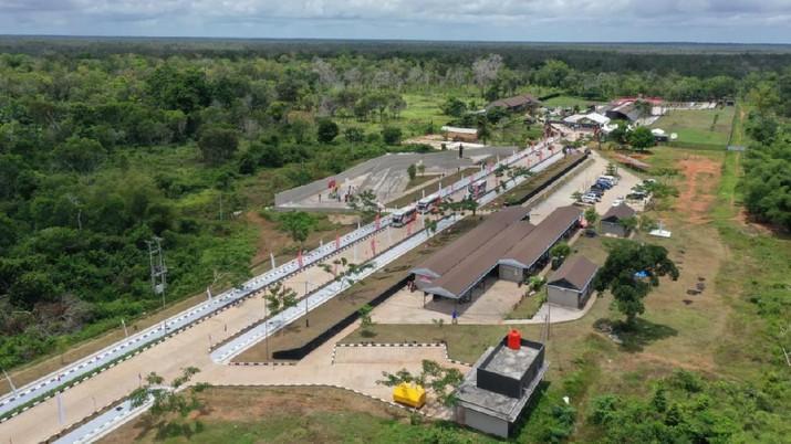 PLBN Terpadu Sota di Merauke, Presiden Jokowi:  Kawasan Perbatasan Representasi Kemajuan Bangsa . (Biro Pers Kementrian PUPR)