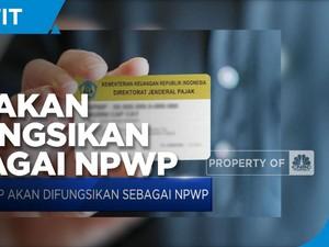 Lewat RUU HPP,  KTP Akan Difungsikan Sebagai NPWP