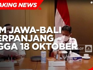 PPKM Jawa-Bali Diperpanjang ke 18 Oktober, Ini Aturannya!