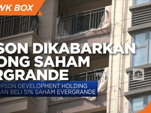 Hopson Dikabarkan Siap Borong Saham Evergrande